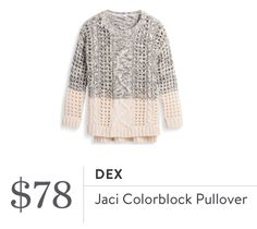 Dex Jaci Colorblock Pullover. I love Stitch Fix! A personalized styling service and it's amazing!! Simply fill out a style profile with sizing and preferences. Then your very own stylist selects 5 pieces to send to you to try out at home. Keep what you love and return what you don't. Only a $20 fee which is also applied to anything you keep. Plus, if you keep all 5 pieces you get 25% off! Free shipping both ways. Schedule your first fix using the link below! #stitchfix @stitchfix. Stitchfix…