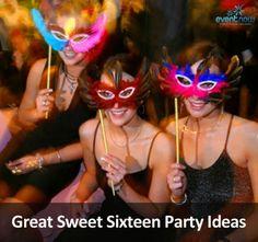 Great Sweet Sixteen Party Ideas