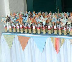 Pinwheels in old coke bottles for escort cards...could use anything or just the bottle itself Pinwheel Wedding, Windows Server, Something Old, Pinwheels, Coke, Real Weddings, Favors, Crafty, Blog