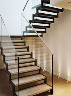 North Audley Bespoke Staircase by Canal Engineering Ltd, via Behance