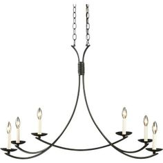 Crate and Barrel Winston Chandelier