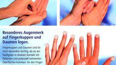 Dermalux-Methode in der Krankenhaushygiene - Händedesinfektion