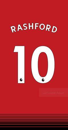 Marcus Rashford of Man Utd wallpaper. Best Football Team, World Football, Football Jerseys, Manchester United Wallpapers Iphone, Man Utd Fc, Sports Fonts, Shirt Logo Design, Lionel Messi Wallpapers, Marcus Rashford