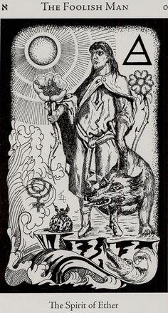 hermetic tarot - the foolish man