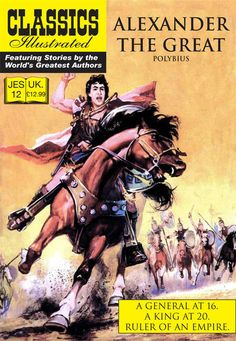 Cover for Classics Illustrated (JES) (Classic Comic Store, 2008 series) #12 - Alexander the Great
