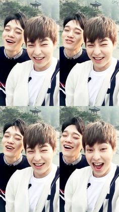 Xiumin and Chen
