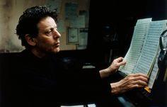 Philip Glass by Annie Leibovitz