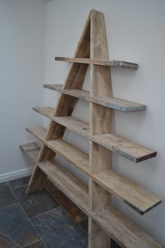 Scaffolding Board Shelving Unit
