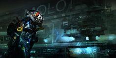Scifi Concept Art: 'MOLOT Industries' by Oleg Danylenko ∞ Infinispace