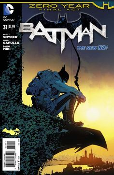 DC comics, zero year