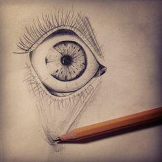 by Anastacia Acid #eye #sketch #pencil