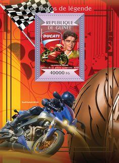 Guinea GU 15115 bLegendary motorcycles (Adriano Ducati, Ducati Supermono)