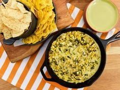 Cheesy Corn Skillet Dip Recipe   Marcela Valladolid   Food Network