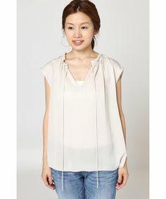 【ZOZOTOWN|送料無料・「ツケ払い」ならお支払は2ヶ月後】IENA(イエナ)のシャツ/ブラウス「ノースリーブリボンブラウス◆」(16051900401030)をセール価格で購入できます。