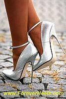 59416e81c6a Peter Chu makes extreme high heels glamourous. Shown here is  pantera s  office building photoshoot