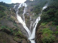 Beautiful Dudhsagar waterfall