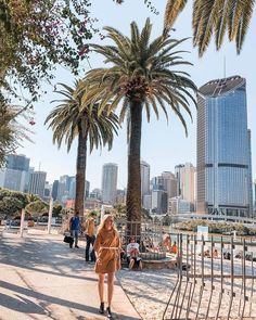 The winter winds cant keep the sunshine away! @jess.williamson8 is absolutely glowing in Brisbane's South Bank precinct and making the most of one of the Sunshine State's best views. Have you paid South Bank a visit recently? #brisbane
