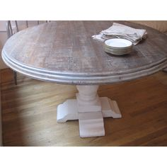 love this dining table available through Shabby Chic in custom sizes and finishes