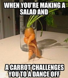Looking for carrot salad recipes? Here is a new style of making salad: the key to this recipe is dancing with it instead of cooking it.