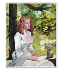 Julia Roberts Oil Painting Limited Editions - myDaVinci.com