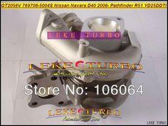 327.14$  Watch now - http://aliy0f.worldwells.pw/go.php?t=677768007 - GT2056V 769708-5004S 769708 14411-EC00C Turbo Turbocharger For NISSAN Navara D40 2006- Pathfinder R51 YD25 YD25DDTi 2.5L 171HP 327.14$