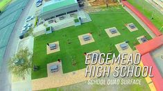 In July we completed a 623 square meters of Synscape turf with base works for the Edgemead High School. Another fantastic installation and the school loves it.