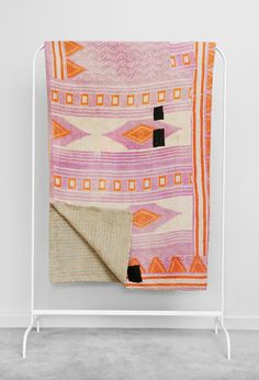 Kantha Quilt Aztec by Fossik