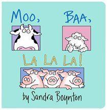 by Sandra Boynton. My girls love Sandra Boynton books! Sandra Boynton, Toddler Books, Childrens Books, Sandro, Great Books, My Books, Amazing Books, Board Books For Babies, Kids Board