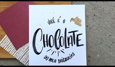 Quem você ama mais que chocolate? _______ E se quiser aprender a fazer esse…