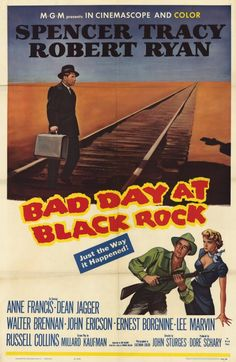 CAST: CAST: Spencer Tracy, Robert Ryan, Anne Francis, Dean Jagger, Walter Brennan, Ernest Borgnine, Lee Marvin DIRECTED BY: Sturges, John; DIRECTED BY: John Sturges; PRODUCER: Herman Hoffman, Dore Sch