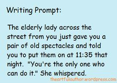 writing prompt one
