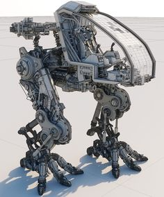 Exposed Mech Project on Behance