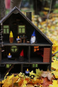 #doll_house #wooden_gnome #gnome #waldorf