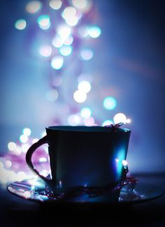 cup of bokeh by ~groundhog-day on deviantART #photoshop #photography #bokeh