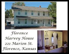Harvey House in Marion County, Kansas.