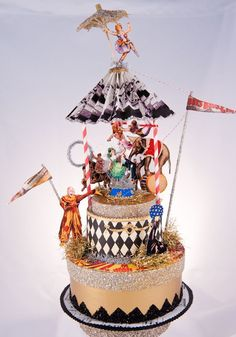2009 Wedding Toppers: Circus1
