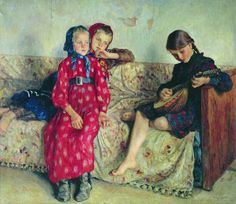The Glory of Russian Painting: Nikolay Bogdanov-Belsky, Country Friends, 1912