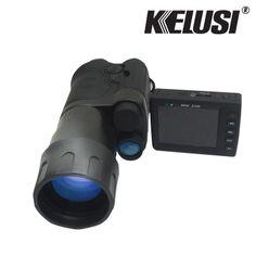 Kelusi 8x50 hd digital night vision monocular infrared laser