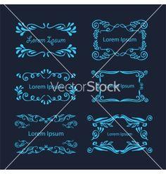Hand-drawn elements vector 4201391 - by Liubou on VectorStock®