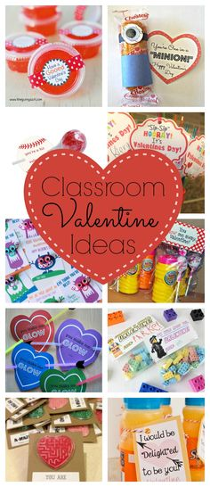 Classroom Valentine Ideas - Click for TONS of cute ideas!