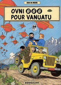 Tintin and Captain Haddock Comic Book Artists, Comic Book Characters, Comic Books Art, Vintage Comic Books, Vintage Comics, Vanuatu, Captain Haddock, Herge Tintin, Lucky Luke