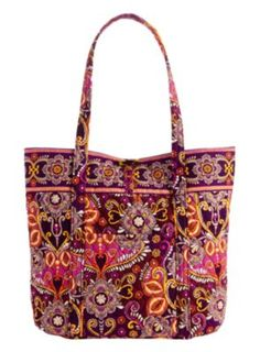 Vera Bradley Vera tote in Safari Sunset... I may need this for my East Suns football season!
