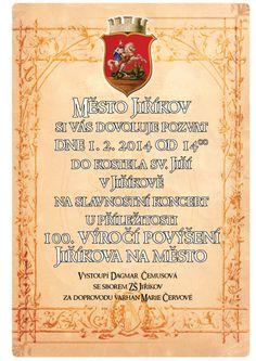 Slavnostní koncert v kostele sv. Jiří ke 100. výročí povýšení Jiříkova na město
