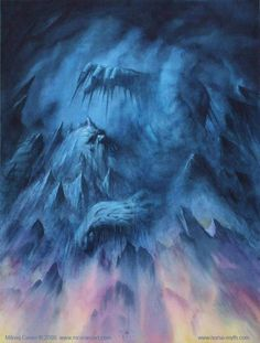 Ymir: The frost giant, the first being and the ancestor to all giants by Milivoj Ceran