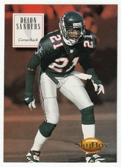 Deion Sanders # 10 - 1994 SkyBox Premium Football