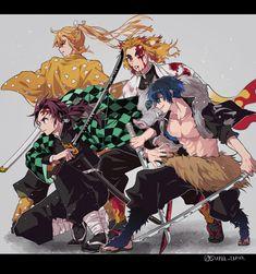 Demon Slayer: Kimetsu No Yaiba manga online Manga Anime, Fanarts Anime, Anime Demon, Anime Art, Dark Fantasy, Slayer Meme, Demon Hunter, Dragon Slayer, Funny Anime Pics