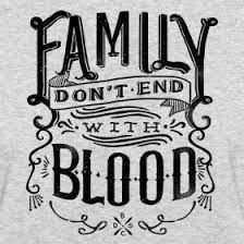 family don't end with blood - Supernatural                                                                                                                                                                                 More