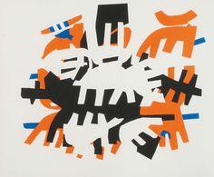 Giuseppe Capogrossi (1900-1972) - Senza titolo, anni' 70 - Arte ...