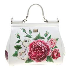 Buy second-hand Dolce & Gabbana Handbags for Women on Vestiaire Collective. Ted Baker Totes, Womens Designer Purses, Creative Bag, Dolce And Gabbana Handbags, White Leather Handbags, Painted Bags, Leather Art, Chanel Jewelry, Unique Bags