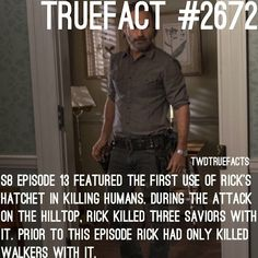 """7,637 curtidas, 107 comentários - If I Posted It.. Its True. (@twdtruefacts_) no Instagram: """"Liked the episode? #TWD #TheWalkingDead #WalkingDead"""""""